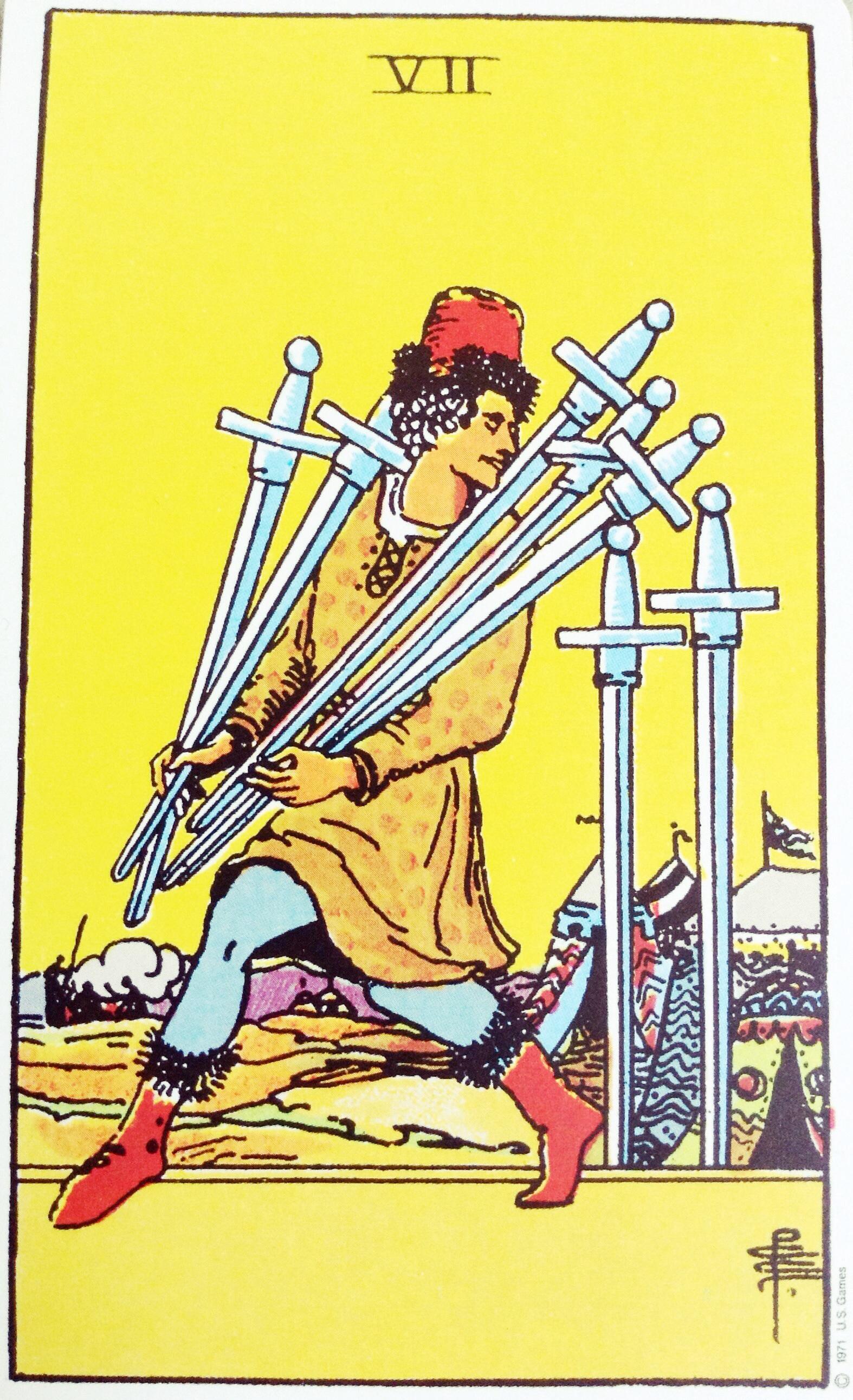 Tajemnica tła siedmiu mieczy